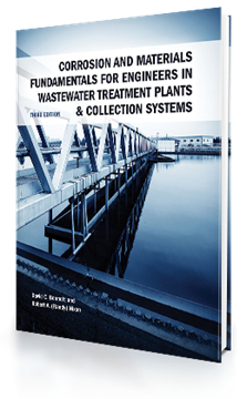 Picture of Corrosion and Materials Fundamentals for Engineers in Wastewater Treatment Plants & Collection Systems, 3rd Edition (E-book)