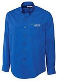Picture for Men's Cutter & Buck Epic Fine Twill Shirt 4C - Royal Blue