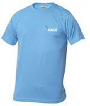 Picture for Mens Moisture Wicking T-shirt - Blue