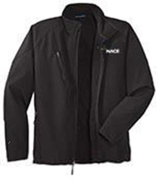 Picture for Womens Textured Soft Shell Jacket - Black SM