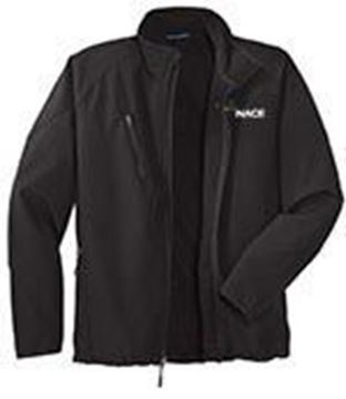 Picture for Womens Textured Soft Shell Jacket - Black XL