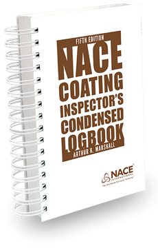 Picture of NACE Coating Inspector's Condensed Logbook, 5th Edition