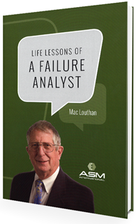Cover Photo for Life Lessons of a Failure Analyst