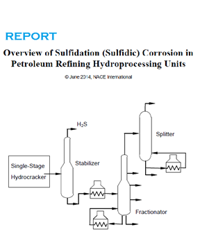 Picture for NACE Publication 34103 (2014) Overview of Sulfidation Corrosion