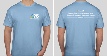 Picture for NACE 75th Anniversary T-shirt , Limited Edition