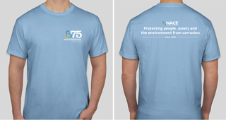 NACE 75th Anniversary T-Shirt, Limited Edition, Small