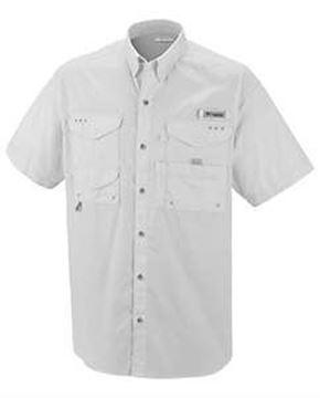 "Men's Performance Fishing Gear ""PFG"" Shirt-White-MD"