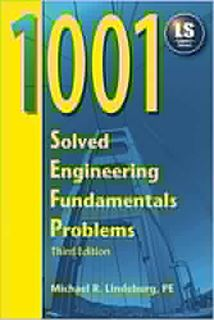 Picture for 1001 Solved Engineering Fundamentals Prob 3rd Ed.