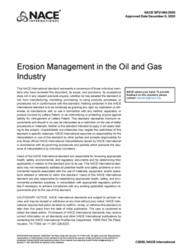 Picture for Erosion Management in the Oil and Gas Industry