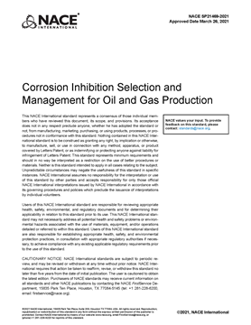 Picture for Corrosion Inhibition Selection and Management for Oil and Gas Production